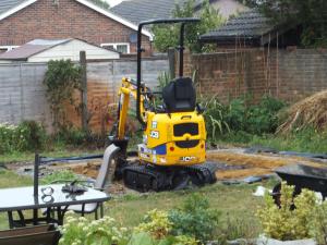13 - Mini excavator